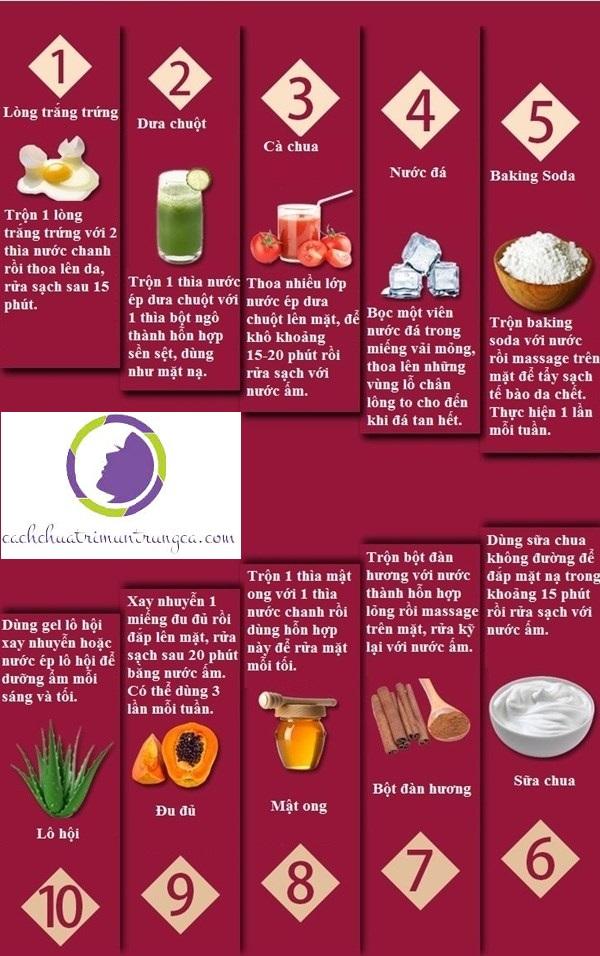 10 cách làm se lỗ chân lông nhanh nhất