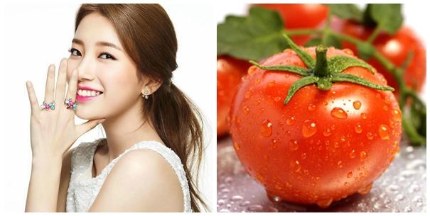 Trị vết thâm sau mụn hiệu quả nhất từ cà chua